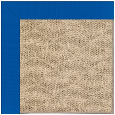 Zoe Machine Tufted Reef Blue/Brown Indoor/Outdoor Area Rug Rug Size: Square 6