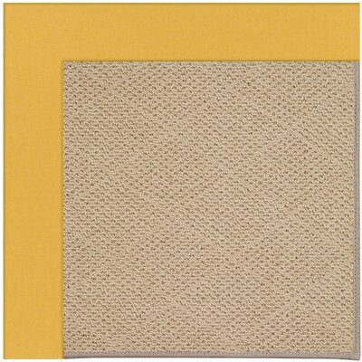 Zoe Machine Tufted Jonquil Area Rug Rug Size: Square 10