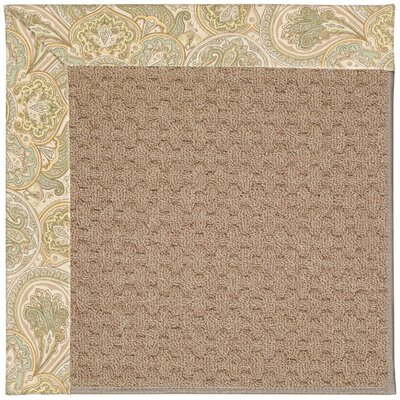 Zoe Grassy Mountain Machine Tufted Quarry Indoor/Outdoor Area Rug Rug Size: Square 8