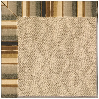 Zoe Machine Tufted Indoor/Outdoor Area Rug Rug Size: Square 4'
