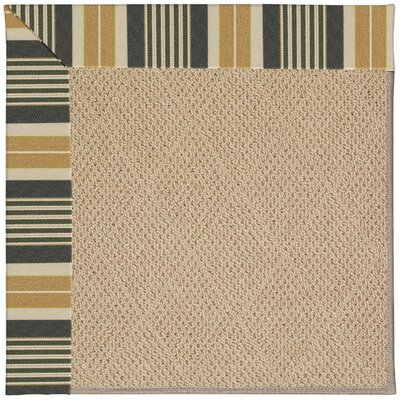 Zoe Machine Tufted Multi-colored Indoor/Outdoor Area Rug Rug Size: Square 10
