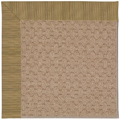 Zoe Grassy Mountain Machine Tufted Indoor/Outdoor Area Rug Rug Size: Round 12 x 12
