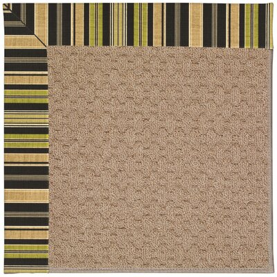 Zoe Grassy Mountain Machine Tufted Indoor/Outdoor Area Rug Rug Size: Square 6