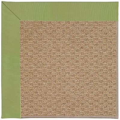 Zoe Machine Tufted Green/Brown Indoor/Outdoor Area Rug Rug Size: 12 x 15