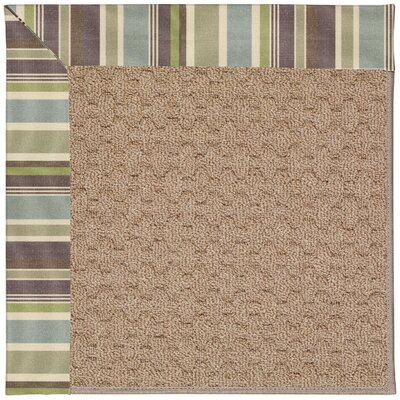 Zoe Grassy Mountain Machine Tufted Indoor/Outdoor Area Rug Rug Size: Rectangle 7 x 9