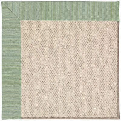 Zoe Beige Indoor/Outdoor Area Rug Rug Size: 7' x 9'