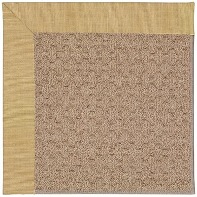 Zoe Grassy Mountain Machine Tufted Bramble Indoor/Outdoor Area Rug Rug Size: Square 8