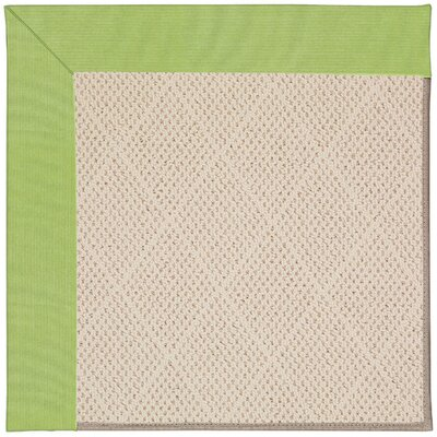Zoe Light Beige Indoor/Outdoor Area Rug Rug Size: 4' x 6'