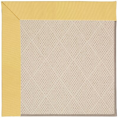 Zoe Light Brown Indoor/Outdoor Area Rug Rug Size: 10 x 14