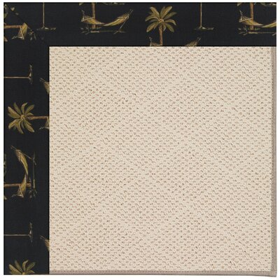 Zoe Light Beige Indoor/Outdoor Area Rug Rug Size: 7 x 9