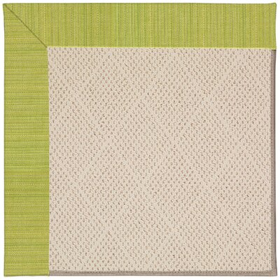 Zoe Light Beige Indoor/Outdoor Area Rug Rug Size: 5 x 8