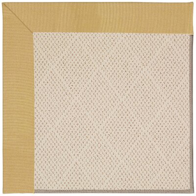 Zoe Light Brown Indoor/Outdoor Area Rug Rug Size: Rectangle 12 x 15