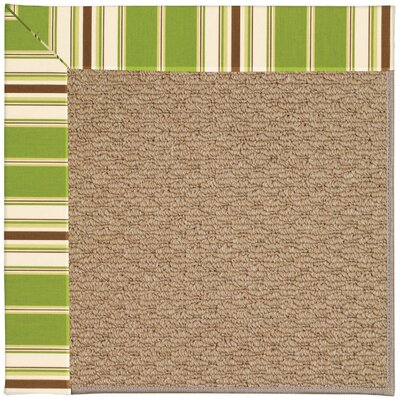 Zoe Machine Woven Indoor/Outdoor Area Rug Rug Size: Square 6