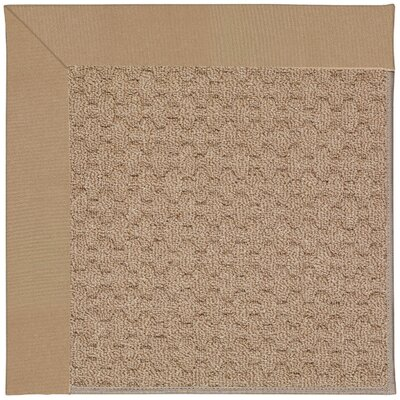 Zoe Grassy Mountain Machine Tufted Biscuit Indoor/Outdoor Area Rug Rug Size: Rectangle 7 x 9