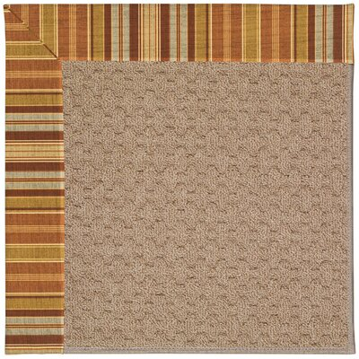 Zoe Grassy Mountain Machine Tufted Indoor/Outdoor Area Rug Rug Size: Rectangle 8 x 10