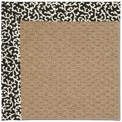 Zoe Machine Woven Cascade Indoor/Outdoor Area Rug Rug Size: Square 4