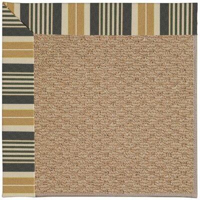 Zoe Machine Tufted Multi-colored Indoor/Outdoor Area Rug Rug Size: Square 6