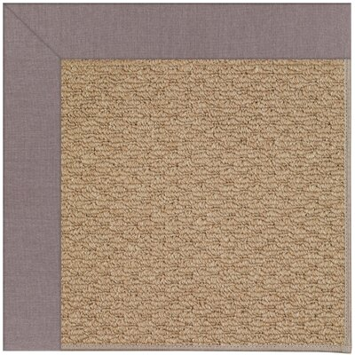 Zoe Machine Tufted Evening and Beige Indoor/Outdoor Area Rug Rug Size: Square 6