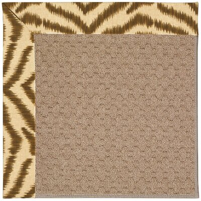 Zoe Grassy Mountain Machine Woven Indoor/Outdoor Area Rug Rug Size: Rectangle 4 x 6