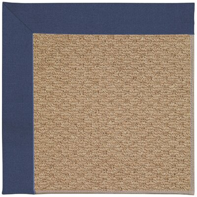 Zoe Machine Tufted Brown and Beige Indoor/Outdoor Area Rug Rug Size: Square 8
