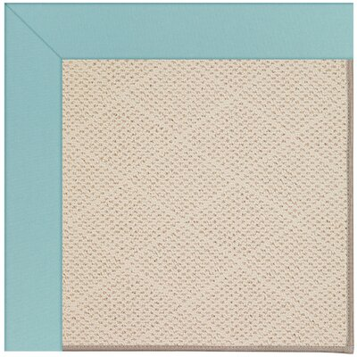 Zoe Brown Indoor/Outdoor Area Rug Rug Size: Square 6