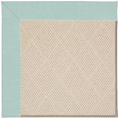 Zoe Light Brown Indoor/Outdoor Area Rug Rug Size: Square 10