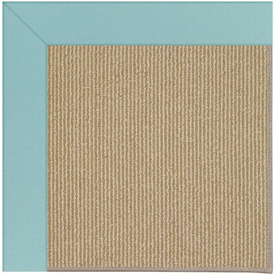 Zoe Machine Tufted Seafaring Blue/Brown Indoor/Outdoor Area Rug Rug Size: Rectangle 9 x 12