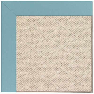 Zoe Sea Blue Indoor/Outdoor Area Rug Rug Size: Square 6