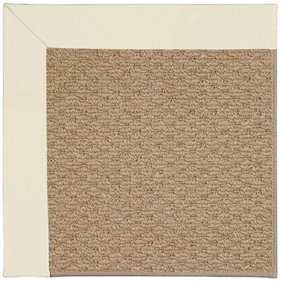 Zoe Machine Tufted Alabaster Indoor/Outdoor Area Rug Rug Size: Round 12 x 12