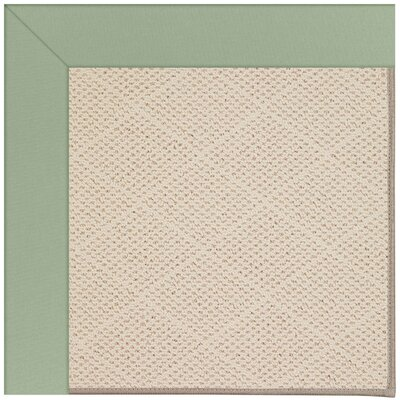 Zoe Light Brown Indoor/Outdoor Area Rug Rug Size: 7 x 9