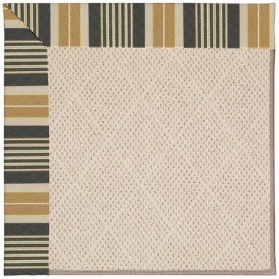 Zoe Cream Indoor/Outdoor Area Rug Rug Size: 7 x 9