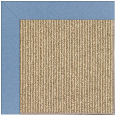 Zoe Light brown Indoor/Outdoor Area Rug Rug Size: Square 4