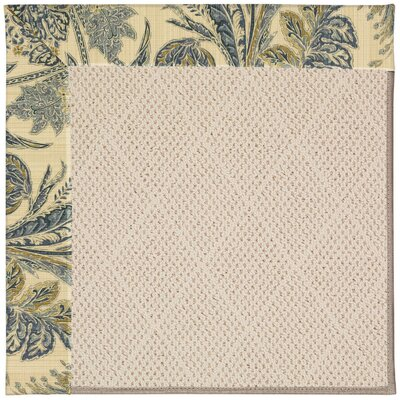 Zoe Brown Indoor/Outdoor Area Rug Rug Size: Rectangle 7' x 9'