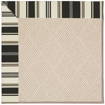Zoe Beige Indoor/Outdoor Area Rug Rug Size: Square 8'