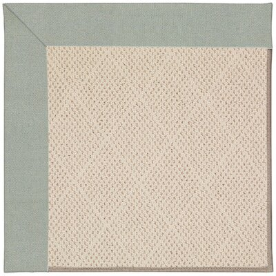 Zoe Light Brown Indoor/Outdoor Area Rug Rug Size: Square 8