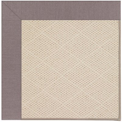 Zoe Light Beige Indoor/Outdoor Area Rug Rug Size: Square 8