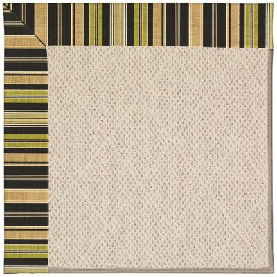 Zoe Cream Indoor/Outdoor Area Rug Rug Size: 4' x 6'