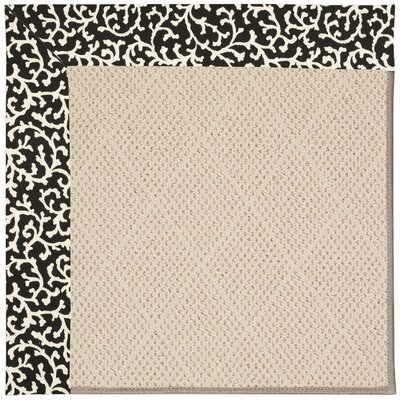 Zoe Beige Indoor/Outdoor Area Rug Rug Size: Square 12