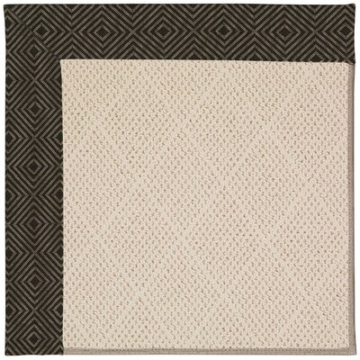 Zoe Beige Indoor/Outdoor Area Rug Rug Size: Square 6
