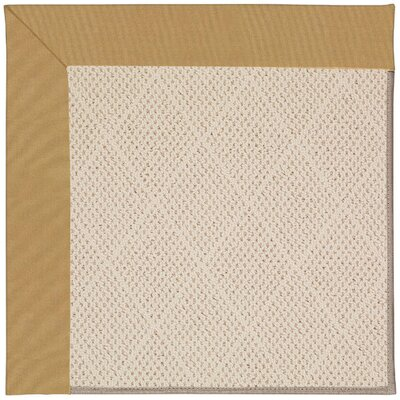 Zoe Cream Indoor/Outdoor Area Rug Rug Size: Square 10