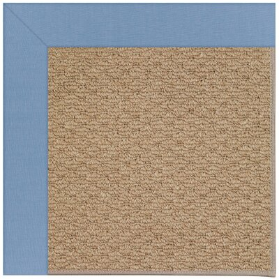 Zoe Machine Tufted Blue/Brown Indoor/Outdoor Area Rug Rug Size: 3 x 5