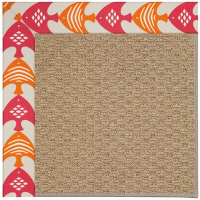Zoe Machine Tufted Autumn Indoor/Outdoor Area Rug Rug Size: Square 4