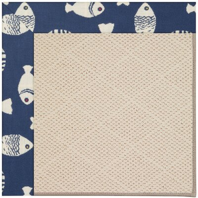 Zoe Brown Indoor/Outdoor Area Rug Rug Size: Rectangle 3' x 5'