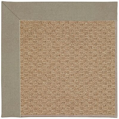 Zoe Machine Tufted Buff Indoor/Outdoor Area Rug Rug Size: Square 4