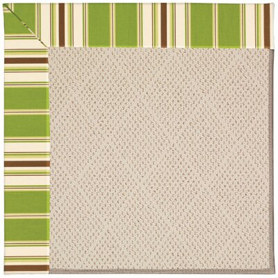 Zoe Beige Indoor/Outdoor Area Rug Rug Size: 9' x 12'