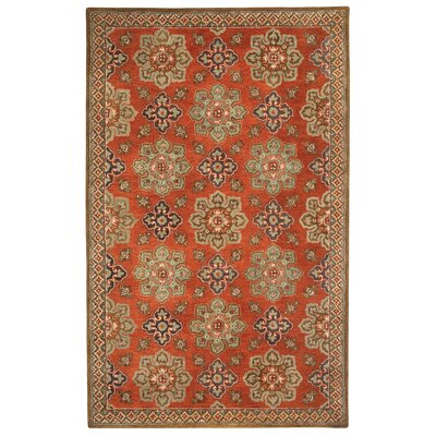 Yates Chestnut Area Rug Rug Size: Rectangle 5 x 8