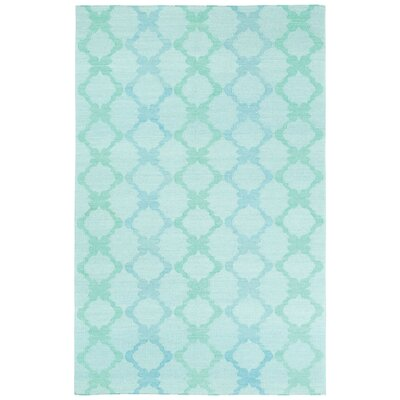 Coastline Light Green Trellis Area Rug Rug Size: Rectangle 5 x 8