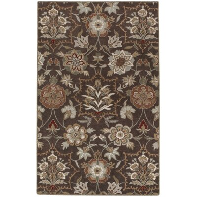 Garden Terrace Beige Blooms/Geometric Area Rug Rug Size: Rectangle 5 x 8