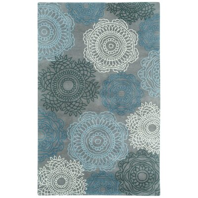Balfour Silver Area Rug Rug Size: 5 x 8