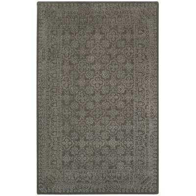 Interlace Coal Area Rug Rug Size: Rectangle 7 x 9